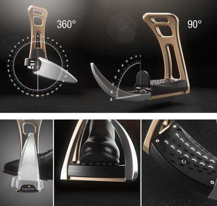 Safe Riding - S1 Stirrups - Champagne