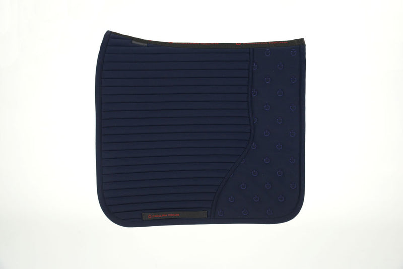 Cavalleria Toscana - CT Quilted Insert Dressage Saddle Pad - Navy
