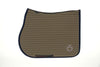 Cavalleria Toscana - Bi-Colour Mesh Jumping Saddle Pad - Moss Green/Navy