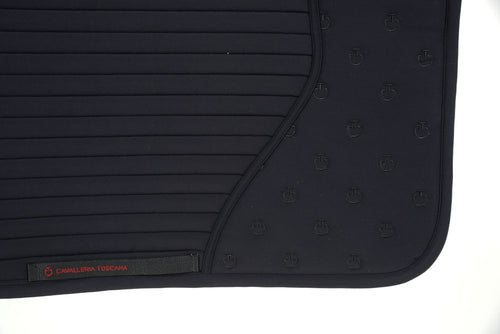 Cavalleria Toscana - CT Quilted Insert Dressage Saddle Pad - Black
