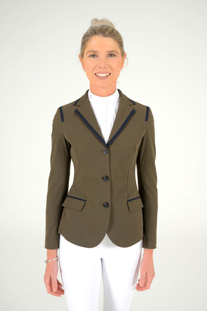 Cavalleria Toscana - Riding Jacket With Micro Print Lining - Moss