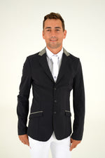 Cavalleria Toscana - Zip Jacket - Black/Grey