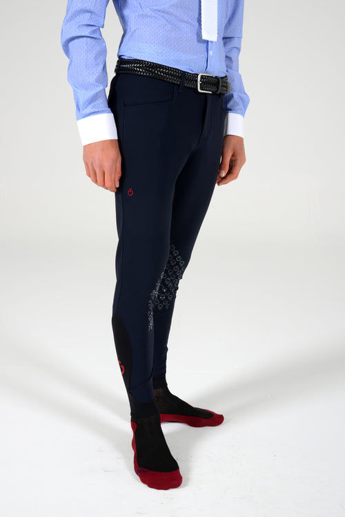 New Grip System Mens Breeches - Navy