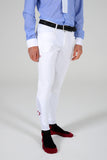 New Grip System Breeches - White