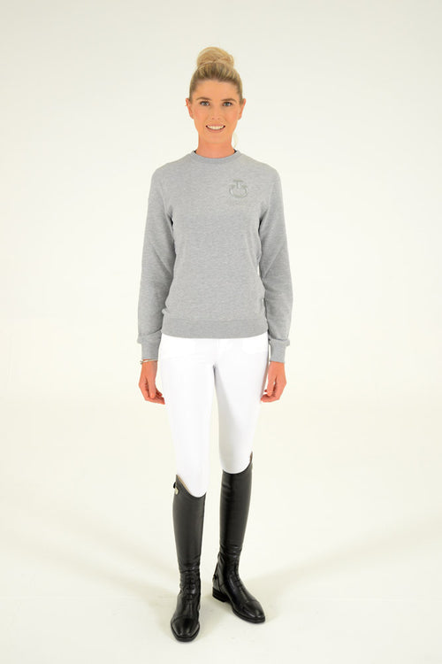 Cavalleria Toscana - CT Crew Neck Sweatshirt - Grey