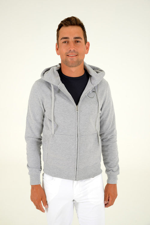 Cavalleria Toscana CT Hooded Sweatshirt - Grey