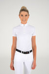 Cavalleria Toscana - Laser Cut CT S/S Competition Shirt - White