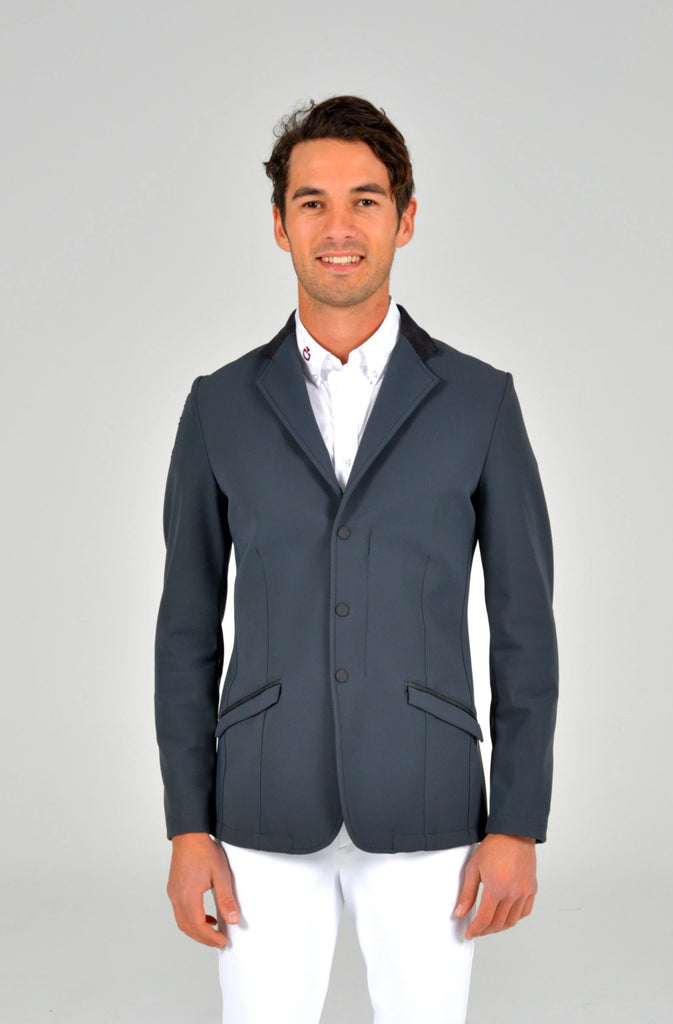 Zip Jacket - Dark Grey sz 44