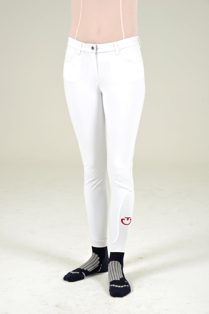 CT Full Grip Breeches - White