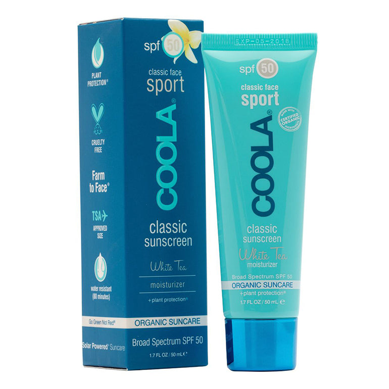 Sport Face White Tea Sunscreen - 50ml