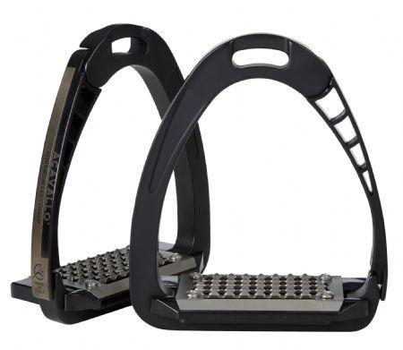 Acavallo AluPro Safety Stirrups - Charcoal