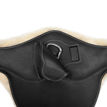 Belly Guard Girth with Removable Sheepskin Lining