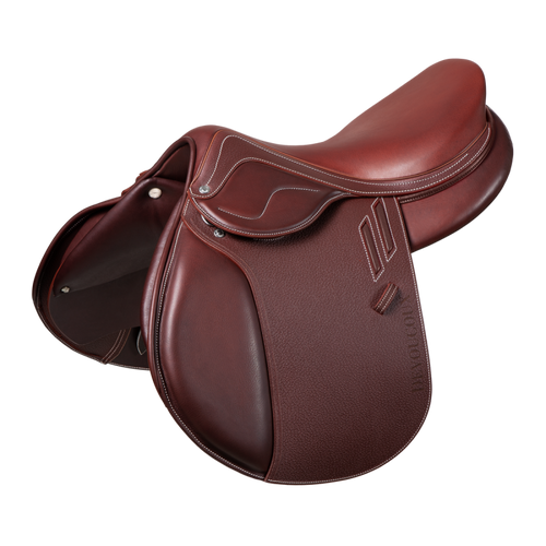 Devoucoux - Biarritz Lab Jumping Saddle - Grain Calf