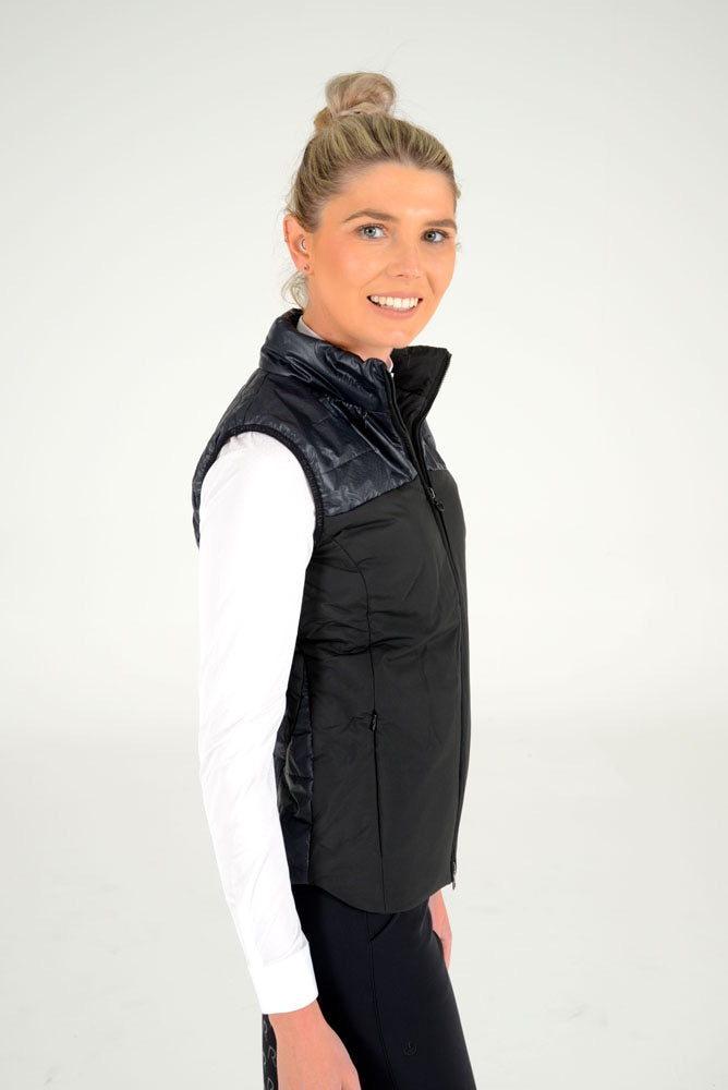 Cavalleria Toscana - Coated Nylon Ripstop Quilted Vest