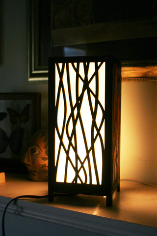 Decorative Laser Cut Wooden Electric Light Box Lamp – Pinpoint ...