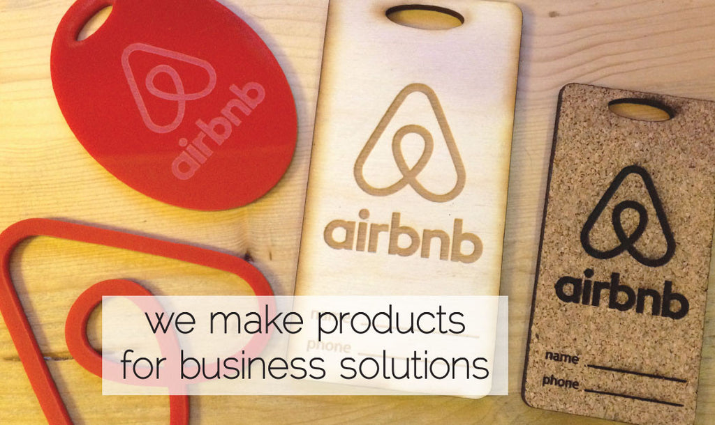 laser cut business marketing products