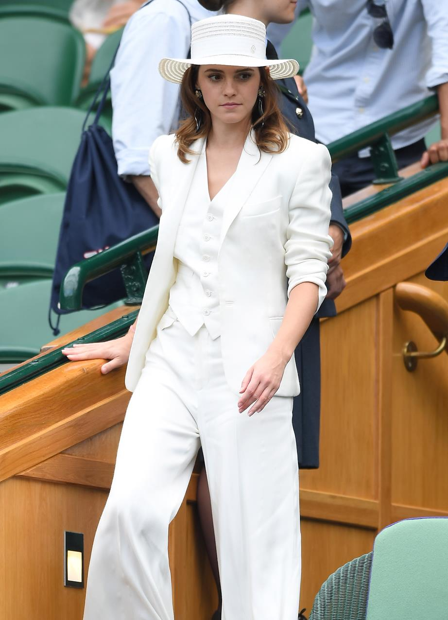Actress Emma Watson certainly got the style memo 3161a5826b4