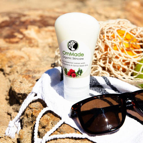 OmMade Organic Skincare - Ethical Fashion - Thread Harvest - Sun Lotion