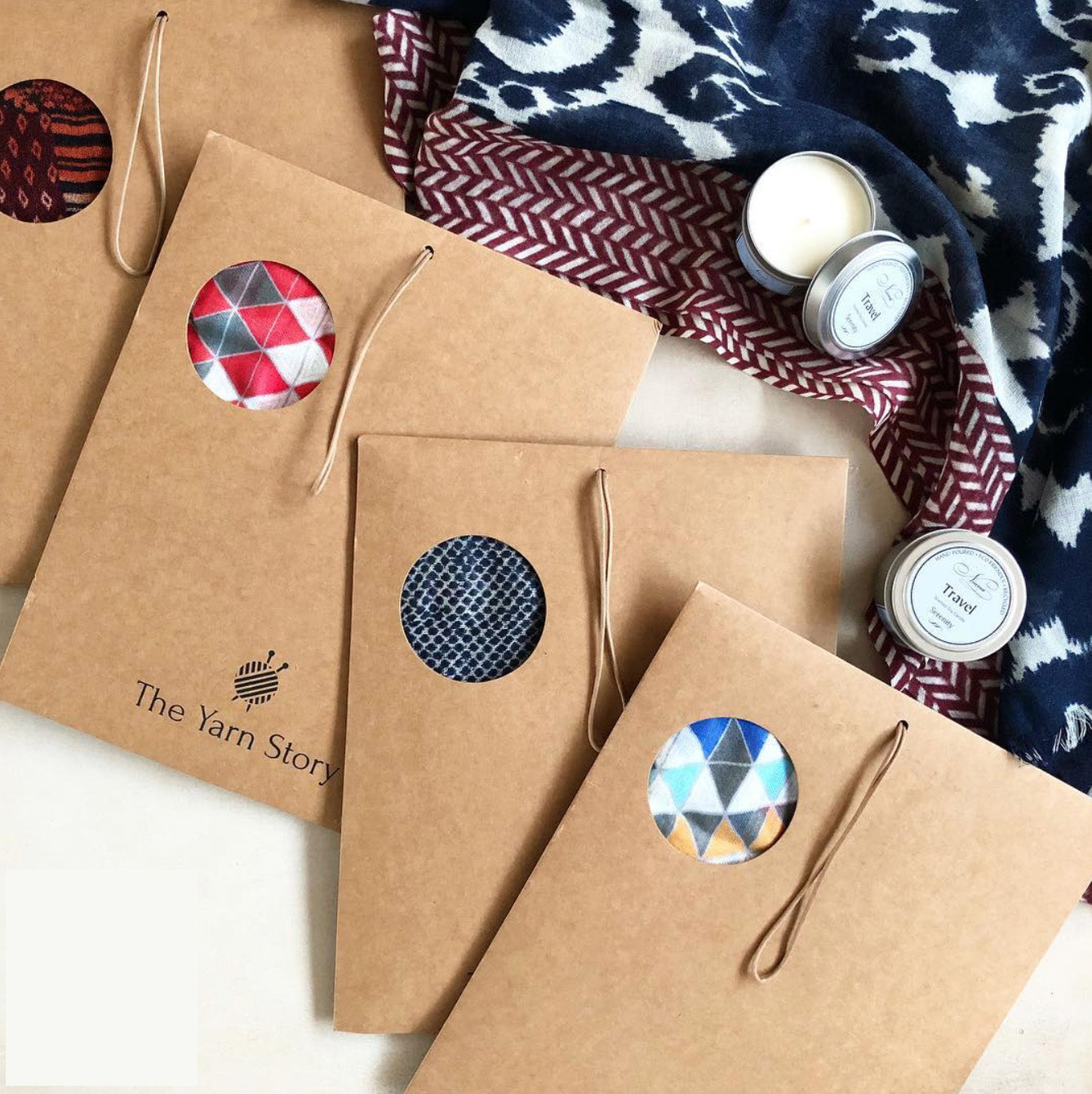 Pocket Squares - The Yarn Story