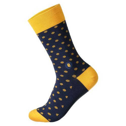 Socks to Provide Books (Polka Dots)