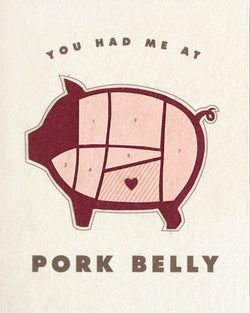 Pork Belly Card