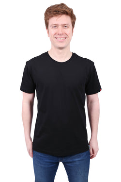 Tshirt Unisex Blank Black Organic Fairtrade