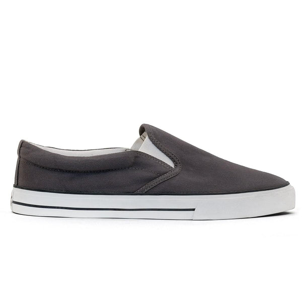 Etiko Slip On Grey & White