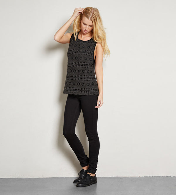 Delaney Top - Black