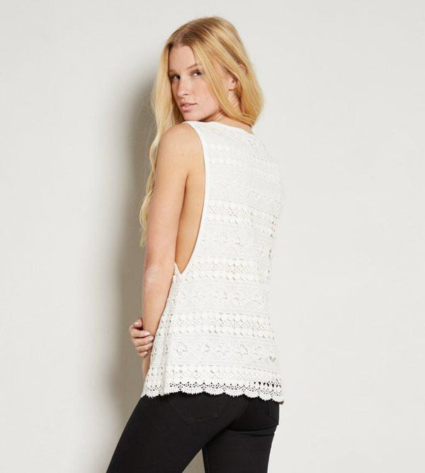 Delaney Top- White