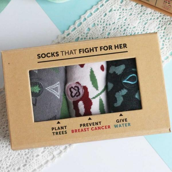 Conscious Collection Womens: Socks That Fight For Her