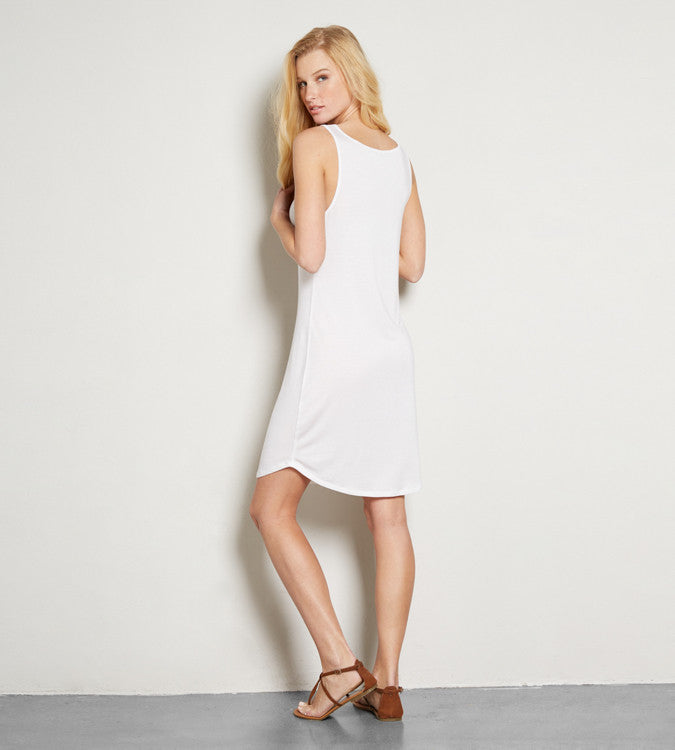 Madison Dress - White