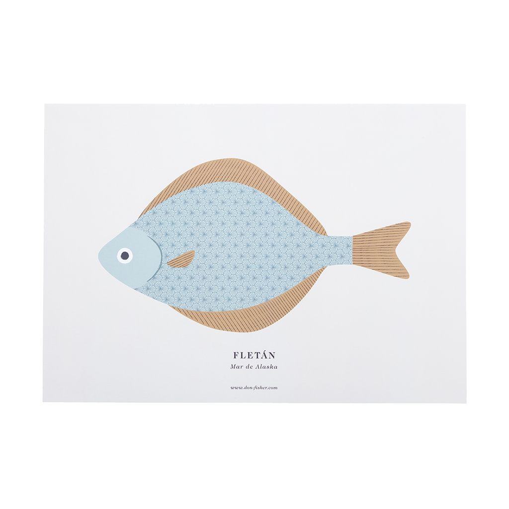 Print - A3 Small Halibut