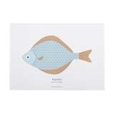 Print - A3 SMALL HALIBUT (Fletán)