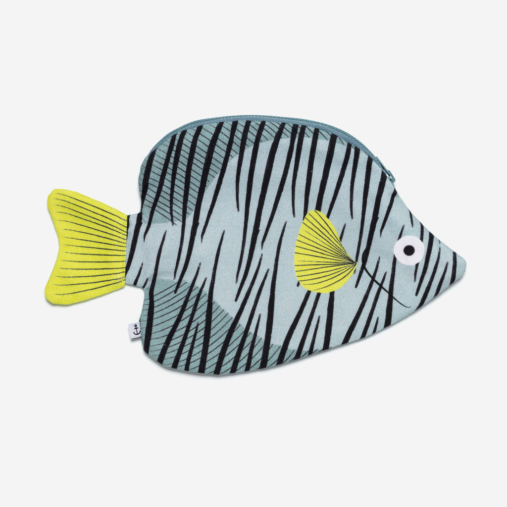 Green Butterfly fish