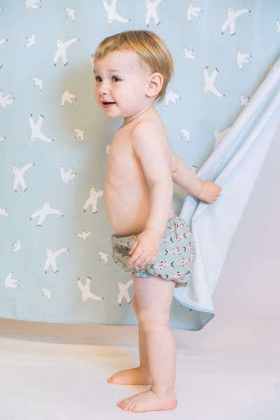 Baby - Green Fish Culotte
