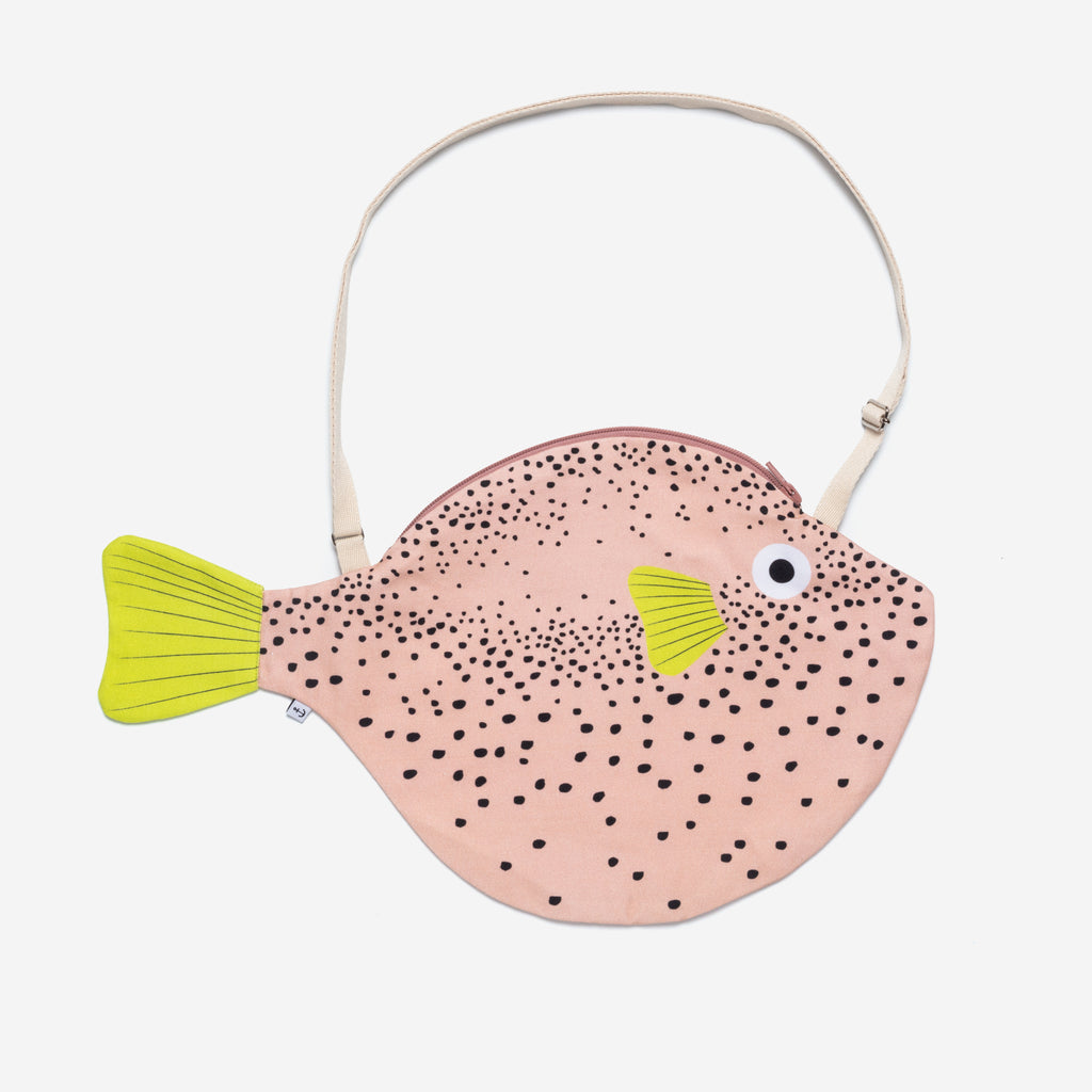 Big Pink Pufferfish