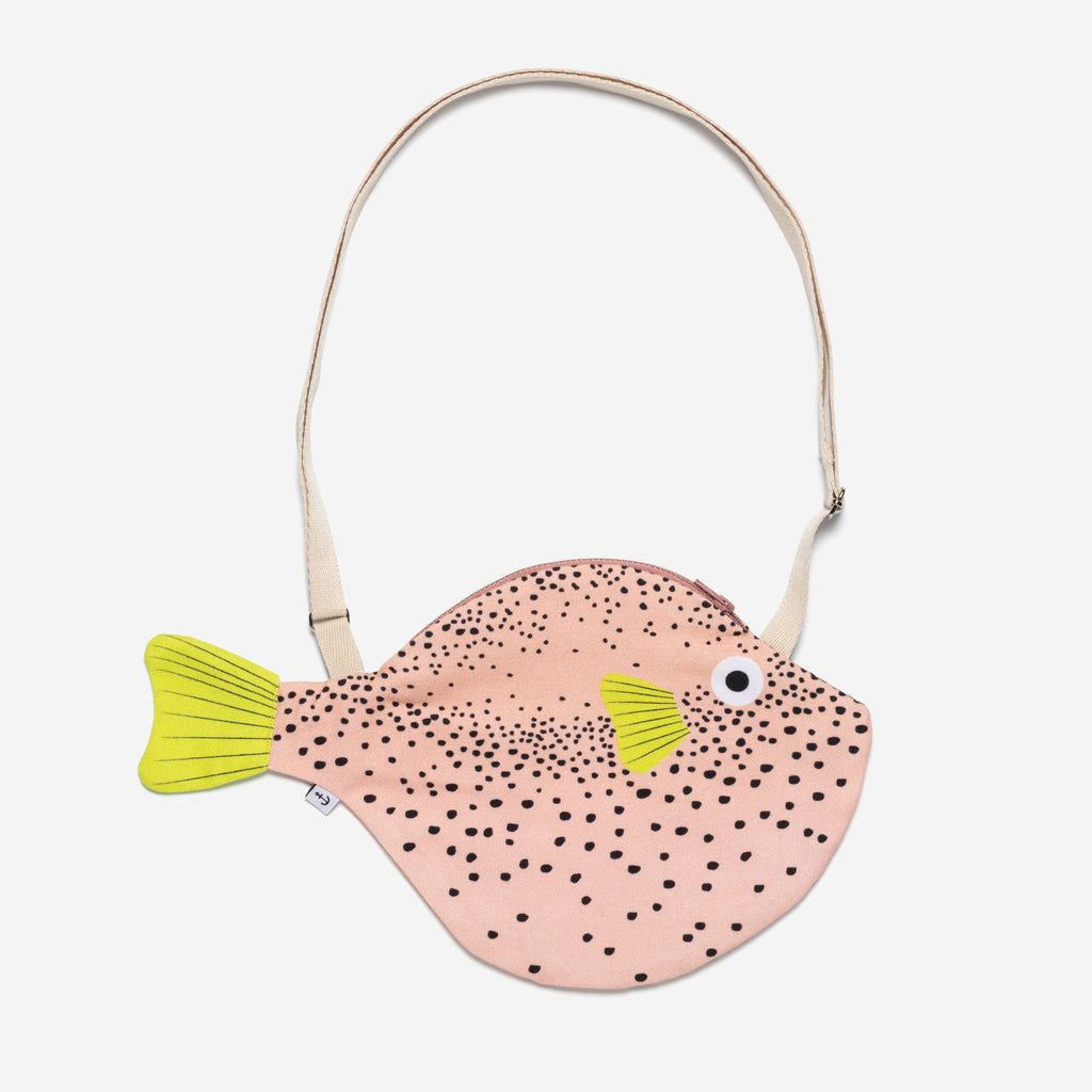 Small Pink Pufferfish