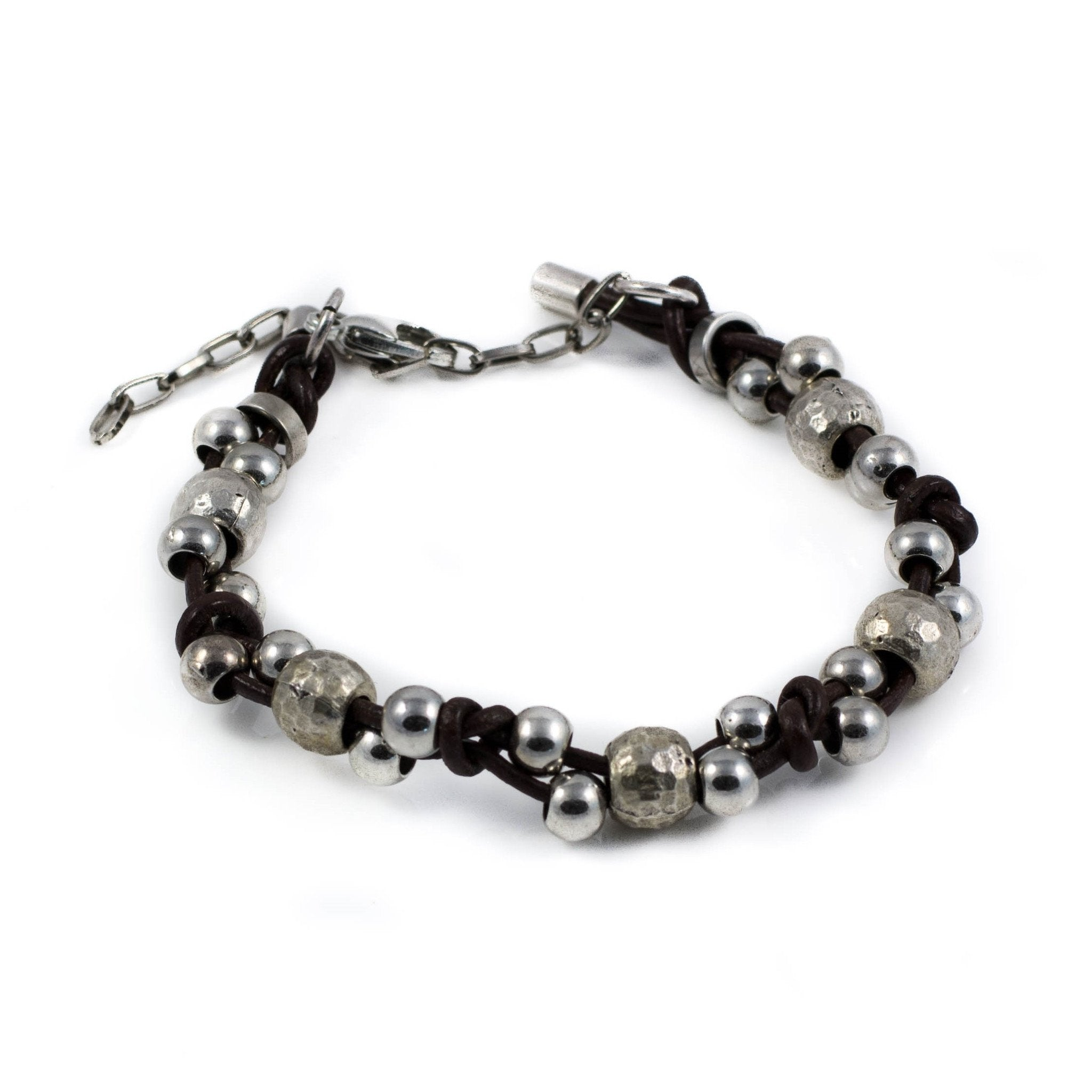it products ag salvador rosary francesco maria mariasalvador black bracelet silver gregorio beads