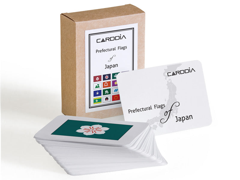 Prefectural Flags of Japan flash cards