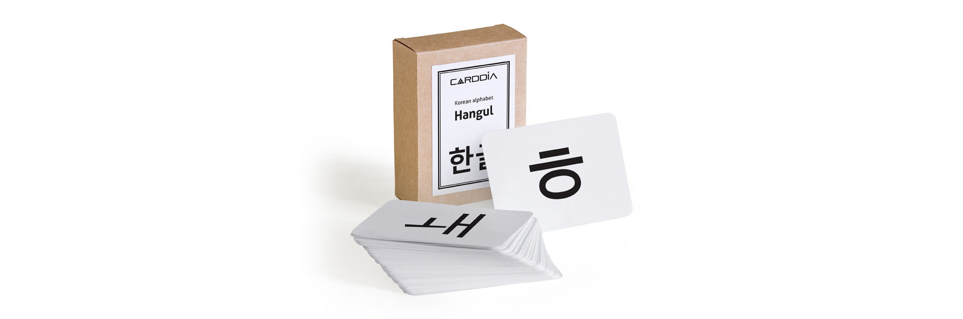 Korean Hangul flashcards