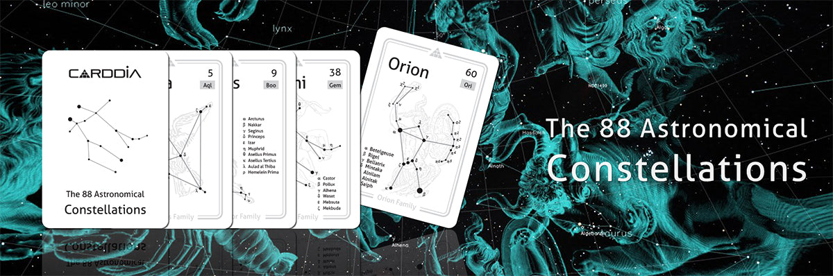 Constellation flashcards