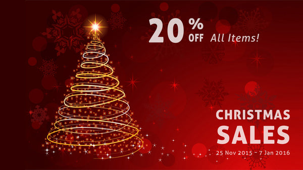 Christmas Sales 2015 from CardDia Flashcards