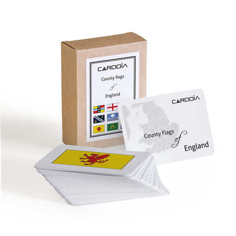 English flags flash cards | CardDia
