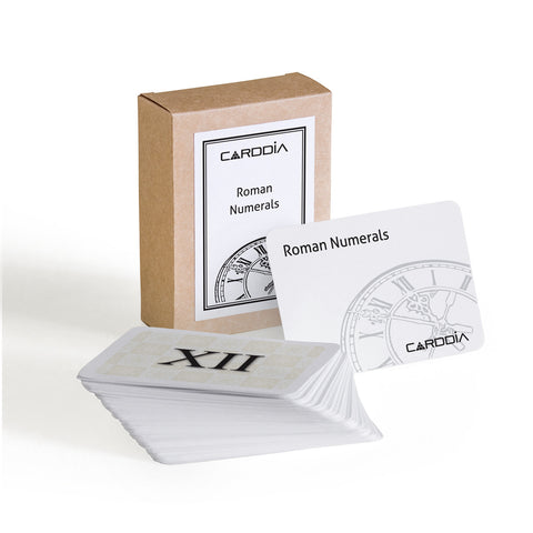 Roman numerals flashcards | CardDia