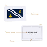 County flags of England cards