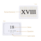 Roman numerals flashcards