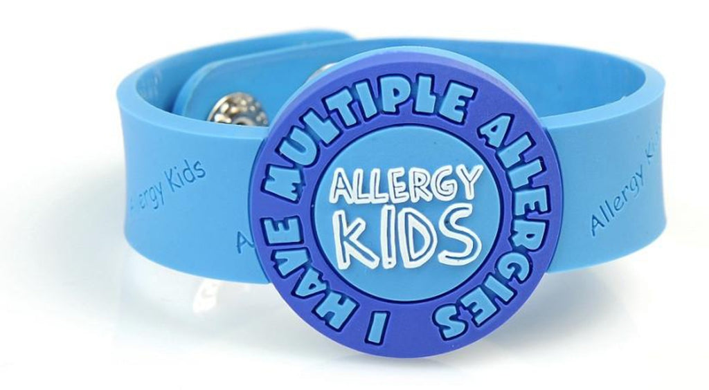 "Allergy Kids, ""I have Multiple allergies"" wristband - allergypunk - 1"