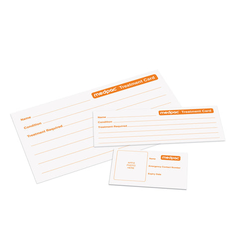 Medpac ID Card & Medpac Treatment Card (Replacements)