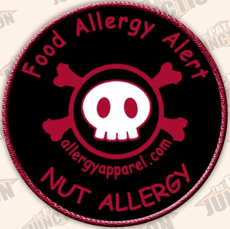 Nut Allergy, Allergy alert patches