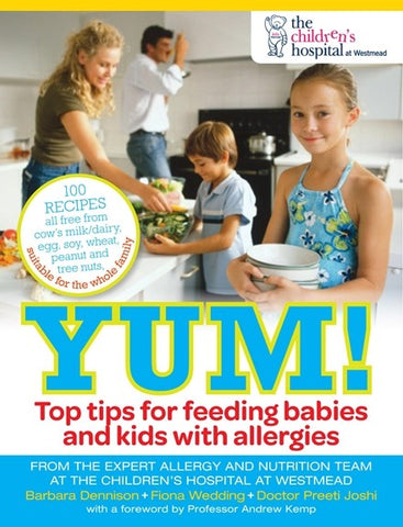 Yum! Top Tips for Feeding Babies and Kids with Allergies